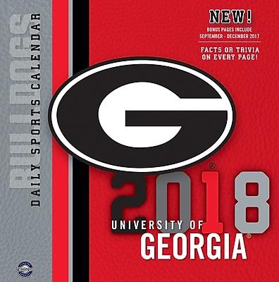 Georgia Bulldogs 2018 Box Calendar (18998051375)
