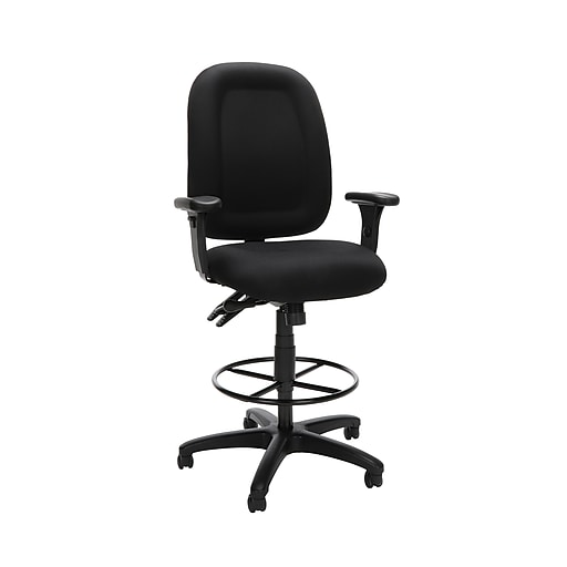 OFM Fabric Task Chair, Black (125-DK-805)