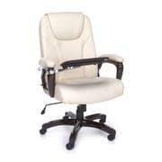 OFM™ ORO Series Polyurethane Designer High-Back Multi-Task Manager Chair, Cream