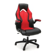 Terrific Ofm Essentials High Back Faux Leather Racing Gaming Chair Red 845123090640 Alphanode Cool Chair Designs And Ideas Alphanodeonline