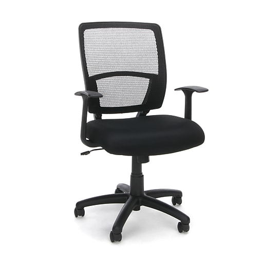 OFM Essentials Collection Mesh Back Task Chair, in Black (ESS-102-BLK)