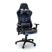 Essentials by OFM Racing Style Gaming Chair, Blue (ESS-6065-BLU)