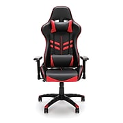 Essentials by OFM Racing Style Gaming Chair, Red (ESS-6065-RED)
