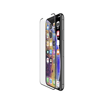 Belkin ScreenForce TemperedCurve Protector for iPhone X/XS, Each (F8W867ZZBLK)