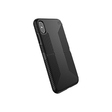 Speck Presidio Grip Black Slim Case for iPhone XS Max (1171061050)