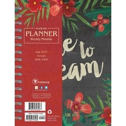 Tf Publishing 2018 Academic Year Dare To Dream Medium Weekly Monthly Planner (18-9152A)
