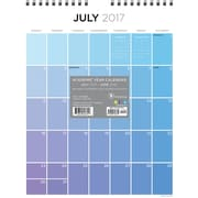 Tf Publishing 2018 Academic Year For The Love Of Color Monthly Wall Calendar (18-6048A)