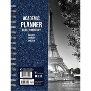 Tf Publishing 2018 Academic Year Paris Medium Weekly Monthly Planner (18-9063A)