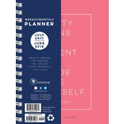 Tf Publishing 2018 Academic Year Coco Medium Weekly Monthly Planner (18-9037A)