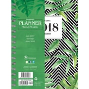 Tf Publishing 2018 Academic Year Jungle Medium Weekly Monthly Planner (18-9205A)