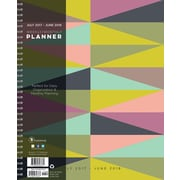 Tf Publishing 2018 Academic Year Geometric Large Weekly Monthly Planner (18-9781A)