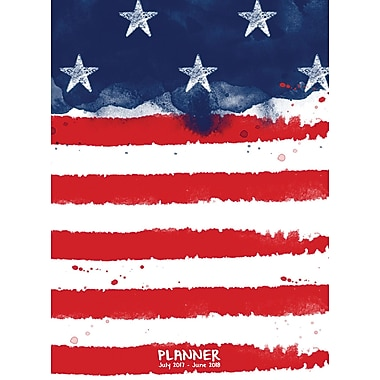 Tf Publishing 2018 Academic Year America Monthly Planner (18-4096A)
