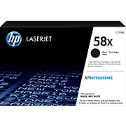 HP 58XL Black High Yield Toner Cartridge
