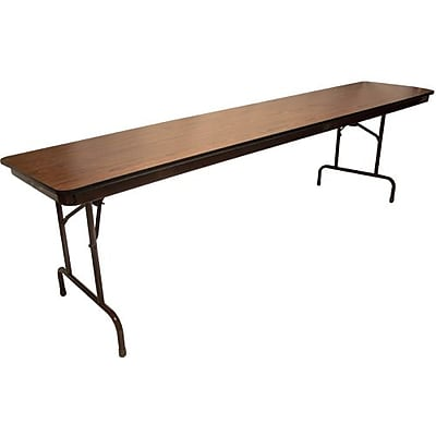 Advantage 8 ft. High Pressure Laminate Folding Training Table 30