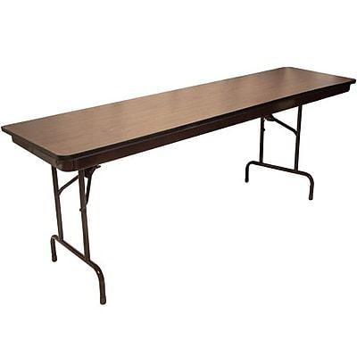 Advantage 6 ft. High Pressure Laminate Folding Training Table 30