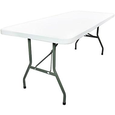 Advantage 8 Foot Plastic Folding Table by Advantage 30