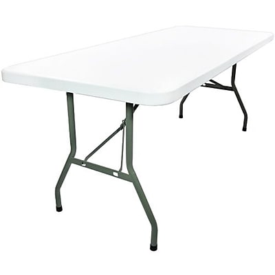 Advantage 6 Foot Plastic Folding Table by Advantage 30