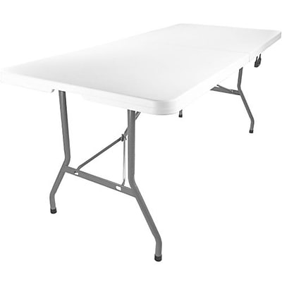 Advantage 6 Foot Bifold Plastic Folding Table by Advantage 30