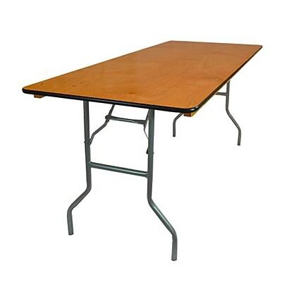 Advantage 6 Ft Wood Folding Banquet Table Ftpw 3072 05