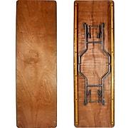 Advantage 8 ft. Wood Folding Banquet Table  (FTPW-3096-05)