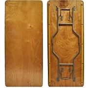 Advantage 6 ft. Wood Folding Banquet Table  (FTPW-3072-05)