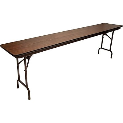 Advantage 8 ft. High Pressure Laminate Folding Training Table 18