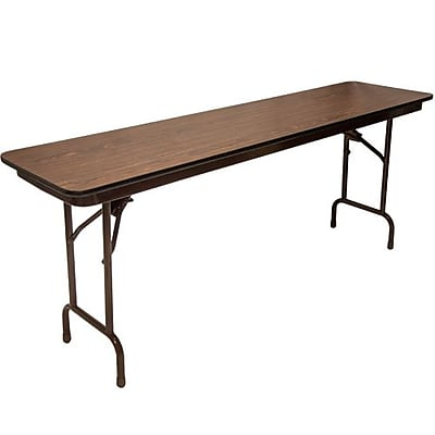 Advantage 6 ft. High Pressure Laminate Folding Training Table 18