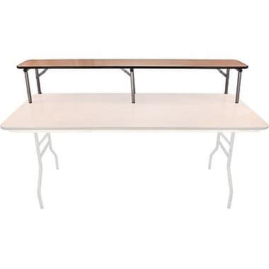 Advantage 6 ft. Rectangular Table Wood Bar Top (BTPW-1272-02)