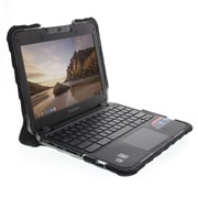 Gumdrop Cases Droptech Chromebook Case for Lenovo N23 Chromebook Rugged Shock Absorbing Cover Black/Black 80UR0004US