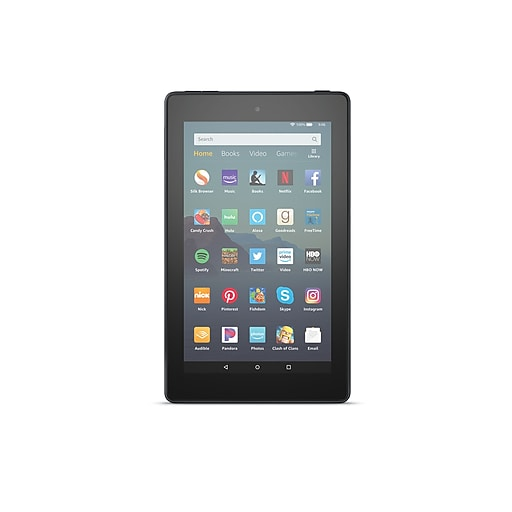 "Amazon Fire 7 7"" Tablet, WiFi, 32 GB, (Fire OS), Black (B07FMPZNQQ)"