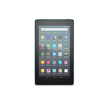 "Amazon Fire 7 7"" Tablet, WiFi, 16 GG, Fire OS, Twilight Blue (B07HZHJGY7)"