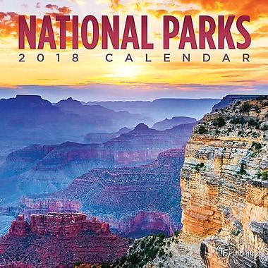 Tf Publishing 2018 National Parks Mini Wall Calendar (18-2093)