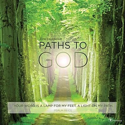 Tf Publishing 2018 Paths To God Wall Calendar (18-1084)
