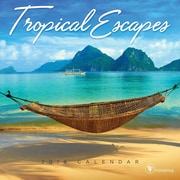 Tf Publishing 2018 Tropical Escapes Mini Wall Calendar (18-2110)