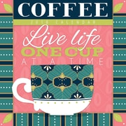 Tf Publishing 2018 Coffee Wall Calendar (18-1015)