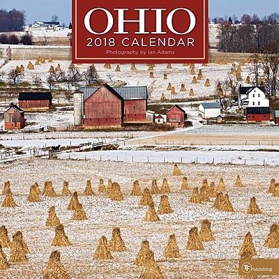 Tf Publishing 2018 Ohio Wall Calendar (18-1163)