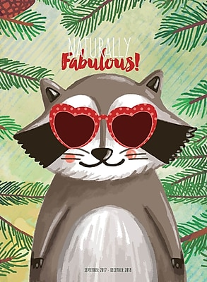 Tf Publishing 2018 Fabulous Monthly Planner (18-4253)