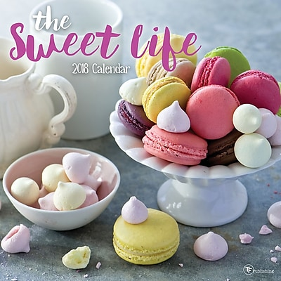 Tf Publishing 2018 The Sweet Life Wall Calendar (18-1025)