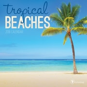 Tf Publishing 2018 Tropical Beaches Mini Wall Calendar (18-2097)