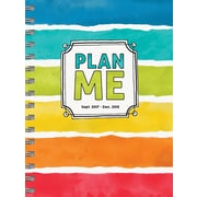 Tf Publishing 2018 Plan Me Medium Weekly Monthly Planner (18-9101)