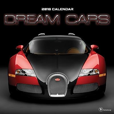 Tf Publishing 2018 Dream Cars Wall Calendar (18-1050)