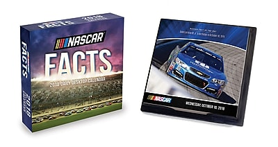 Tf Publishing 2018 Nascar Facts Daily Desktop Calendar (18-3212)