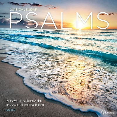Tf Publishing 2018 Psalms Wall Calendar (18-1085)