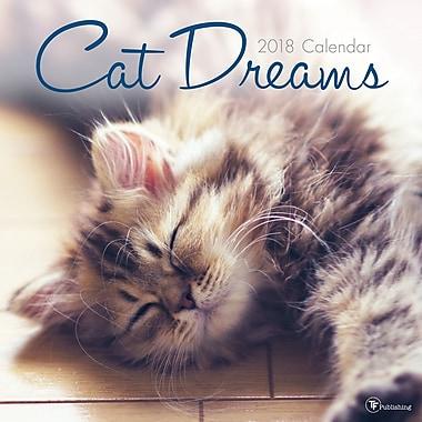 Tf Publishing 2018 Cat Dreams Wall Calendar (18-1021)