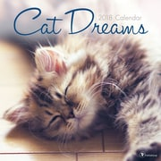 Tf Publishing 2018 Cat Dreams Wall Calendar (18-1021)
