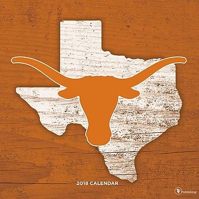 Tf Publishing 2018 University Of Texas Wall Calendar (18-1170)