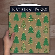 Tf Publishing Green Trees Calendar Wrap (99-1003)