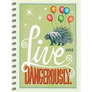 Tf Publishing 2018 Live Dangerously Medium Weekly Monthly Planner (18-9046)