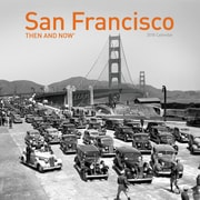 TF Publishing 2018 San Francisco, Then And Now Wall Calendar (18-1314)