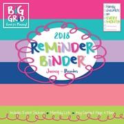 Tf Publishing 2018 Reminder Binder® Wall Calendar (18-1101)